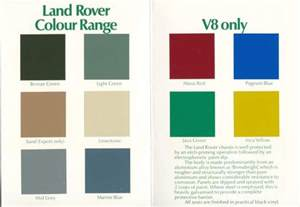 classic colours classic colours for landrovers google search bits and