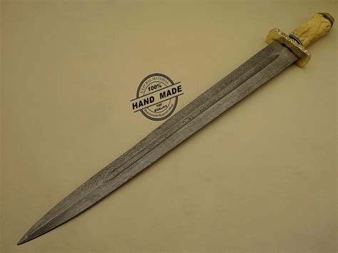Handmade Custom Swords - professional damascus sword custom handmade damascus steel
