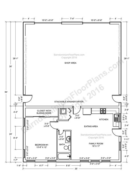 pole barn floor plans 26 best house plans images on pinterest floor plans