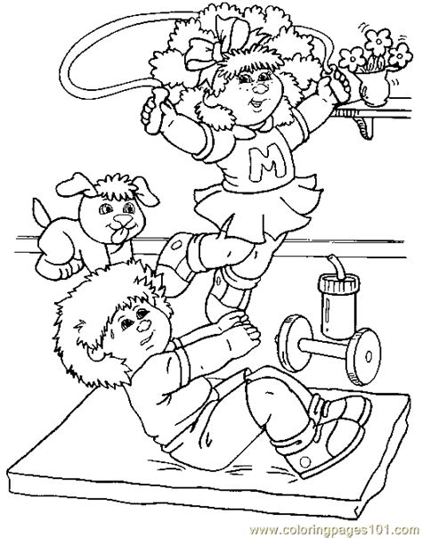 Cabbage Patch Kids Coloring Pages Bestofcoloring Com Cabbage Patch Coloring Pages
