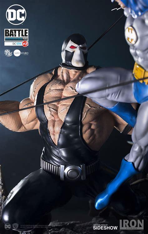 Batman Bane dc comics batman vs bane diorama by iron studios