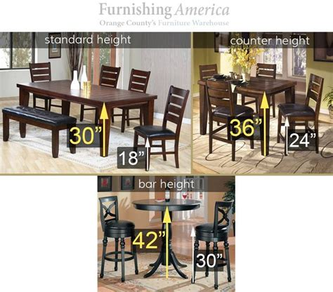 Standard Kitchen Table Height Best 25 Bar Height Table Ideas On Kitchen Table Bar Stool Height And Bar Tables