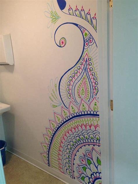 henna tattoo wall art 10 best henna wall wall ideas