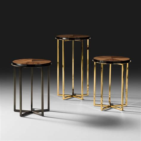 high end accent tables high end italian walnut veneered side table juliettes