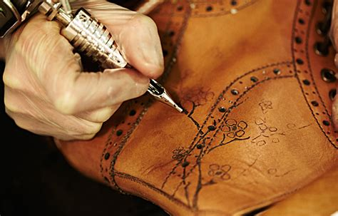 tattoo shoes leather tattooed leather shoes inkspiration