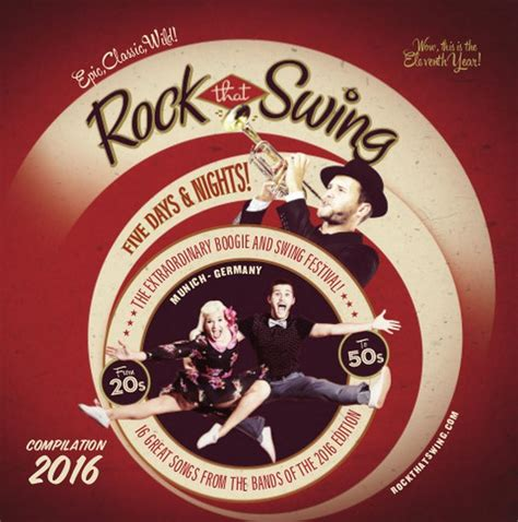 rock swing rock that swing festival 2016 cd crazy times music