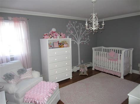 Gray And Pink Nursery Decor Pink And Gray Classic And Girly Nursery Project Nursery