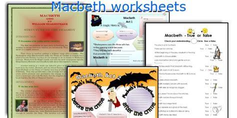macbeth themes lesson worksheets macbeth worksheets opossumsoft worksheets and