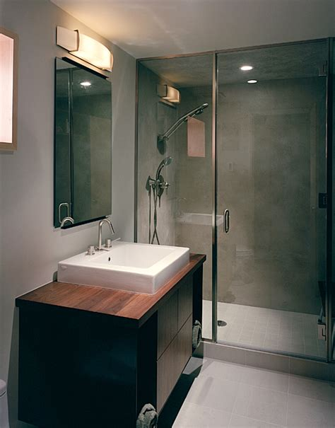 split bathroom design modern remodel of the post war split level house into a