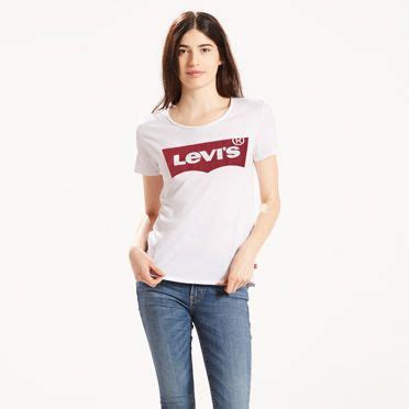 Small Grid Casual Top 24457 The White Logo Levi S 174 Netherlands Nl