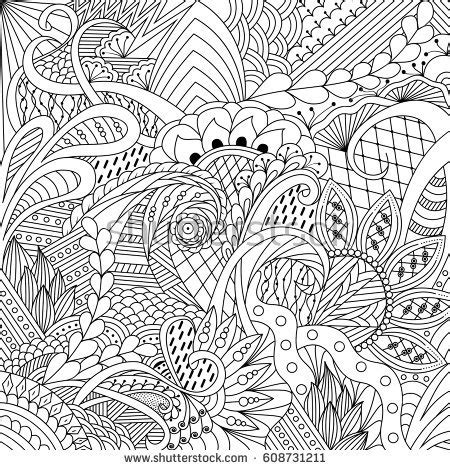 coloring pages for adult in zenart style antistress coloring page 95 zen art coloring page to print this free