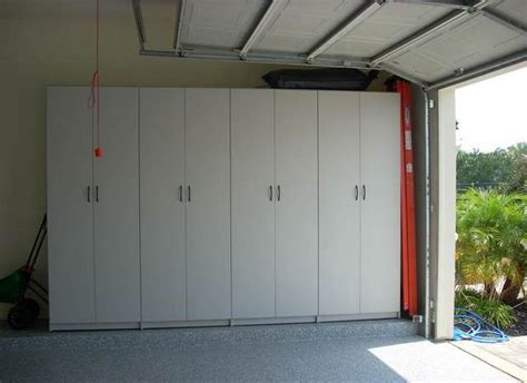 Garage Cabinets Sliding Doors Diy Garage Cabinets Doors Home Design Ideas
