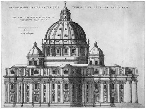 michelangelo draftsman and designer books file ortographia partis exterioris templi divi petri in