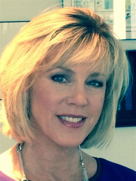 inside edition hairstyles debra norville new haircut 2015 deborah norville photos