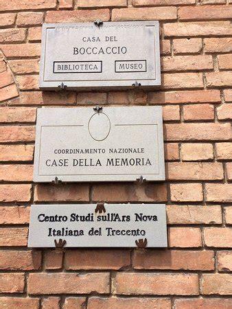 casa di boccaccio casa di boccaccio picture of certaldo certaldo