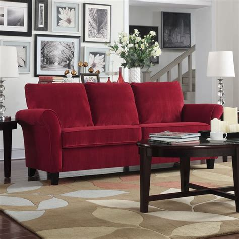 red velvet sofa furniture 1000 ideas about red sofa decor on pinterest mount tv