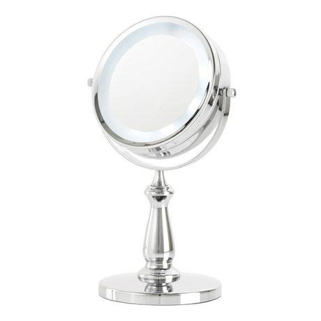 danielle magnifying small l e d vanity mirror walmart ca