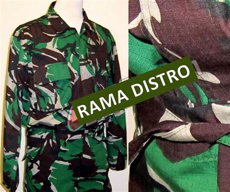 Seragam Pdl Jatah Tni baju seragam jual aneka barang perlengkapan militer tni polri satpam air soft gun jam dinding