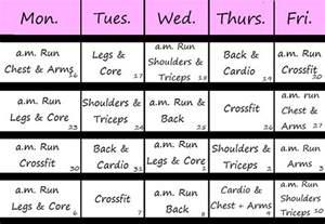 exercise calendar template workout schedule new calendar template site