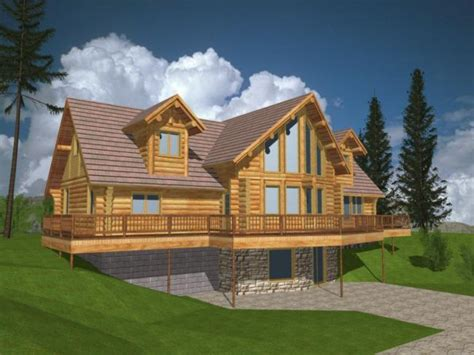 log cabin house plans log house plans with loft log home plans and designs