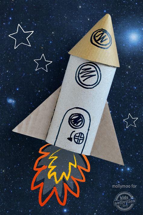rocket crafts for toilet roll craft rocket blast