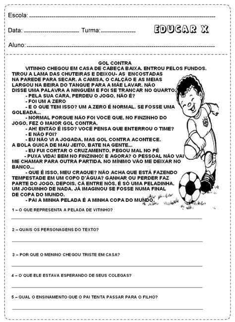 Educar X: Atividades de Interpretação de texto - Copa do Mundo