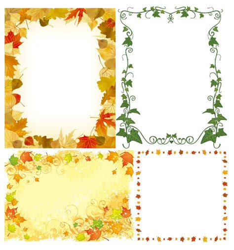 cornici floreali da stare plant frame vector vector frames borders free