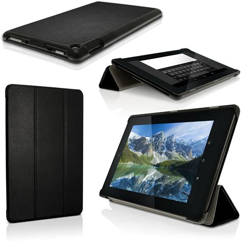 "iGadgitz PU Leather Smart Cover Case for Amazon Fire HD 8 Tablet 8"" 2015 with Stand   Sleep Wake"