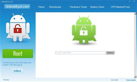 root your android unlock root an utility that roots almost any android smartphone