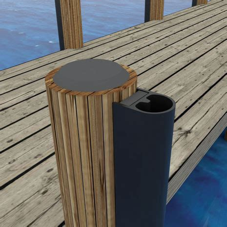 boat dock piling bumpers piling bumper 3265 techno rubber industries