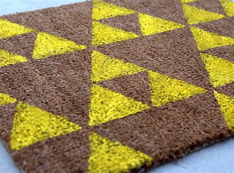 Nerdy Rugs by Diy Welcome Mats Two Ways Trek Our