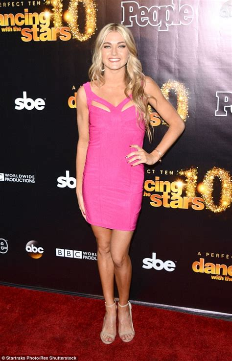 who was the blonde in dwts dancing with the stars lindsay arnold marries her high