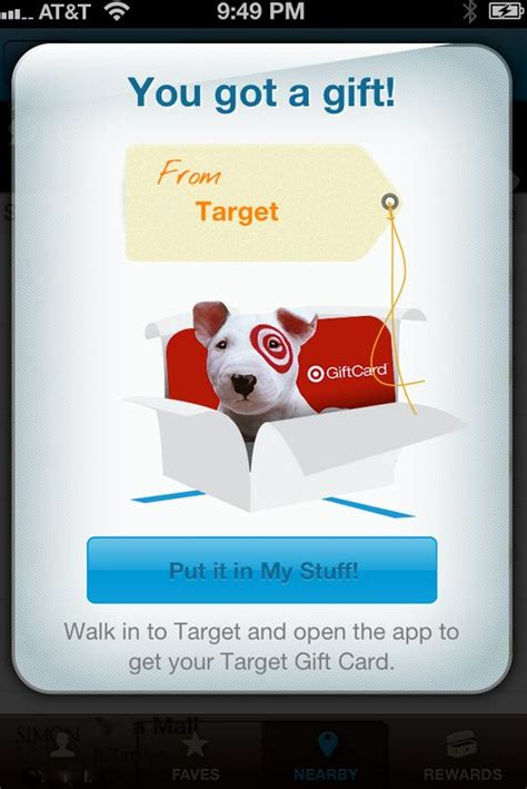 Shopkick Gift Cards - shopkick free 2 target gift card