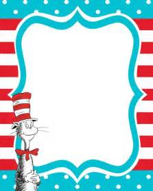 free dr seuss templates dr seuss border clipartion