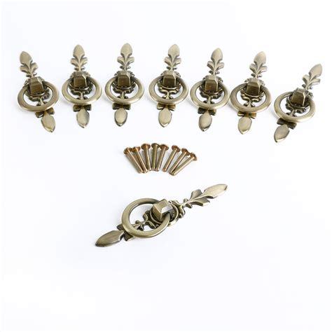 antique drawer pulls handles vintage chic metal drawer pulls antique brass door