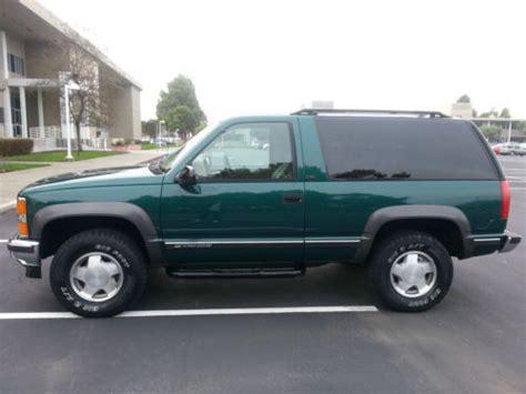 purchase used 1998 chevrolet tahoe lt sport utility 2 door