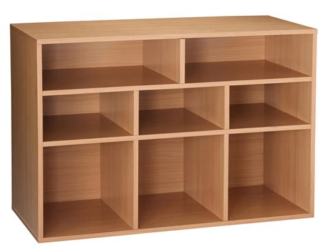 cube storage unit essential home 8 cube storage unit oak finish