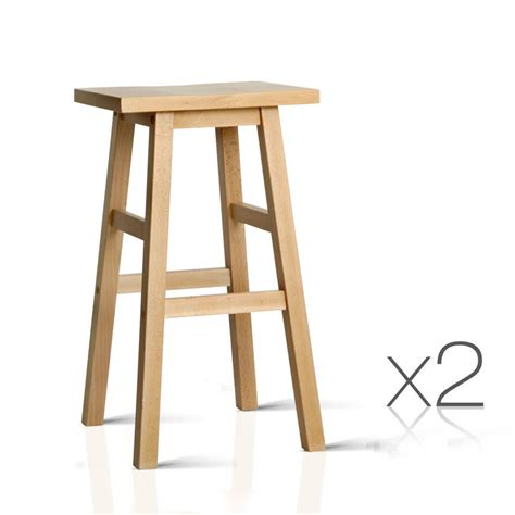 Set Of 3 Backless Bar Stools by Artiss Set Of 2 Wooden Backless Bar Stools Buy