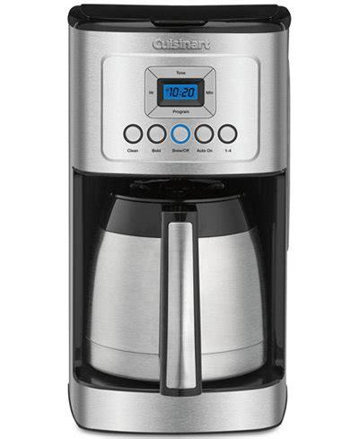 cuisinart dcc  perfectemp  cup thermal coffeemaker