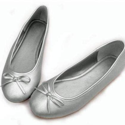 comfortable ballerina shoes simple casual comfortable bow ballerina shoes on luulla