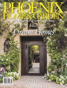 phoenix home  garden magazine featuring paul rene
