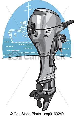 outboard boat clipart vector clipart of outboard boat motor csp9163240 search