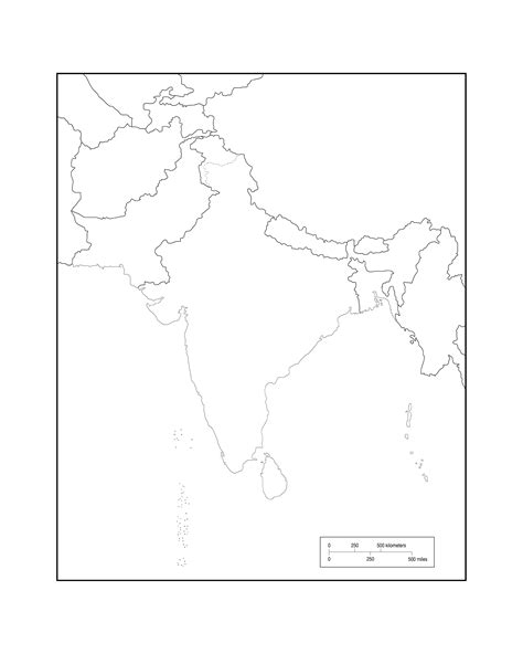 blank map of south asia maps of asia page 2