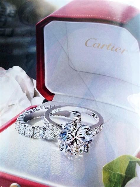 cartier engagement ring wedding dresses rings accessories pinterest band will have