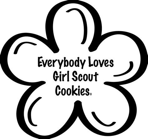 Cookie Coloring Page Girl Scout Cookie Recipes Pinterest Scout Cookie Coloring Sheet Free