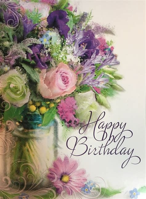 Pictures Of Flowers For Birthday Cards