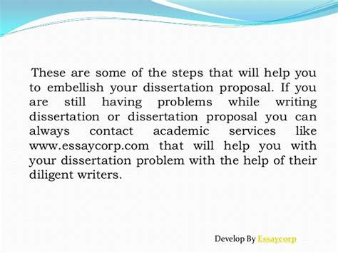 dissertation steps help writing dissertation steps