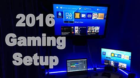 gaming setup ultimate gaming youtube setup new this year bedroom