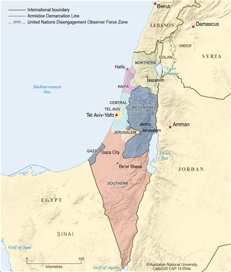bank of israel israel gaza and west bank 2012 cartogis services maps