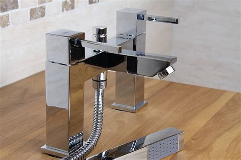 Bathroom Mixer Taps With Shower Attachment 50 Chunky Chrome Bathroom Mixer Tap With Shower